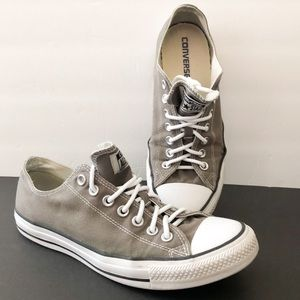 Converse gray low sneakers